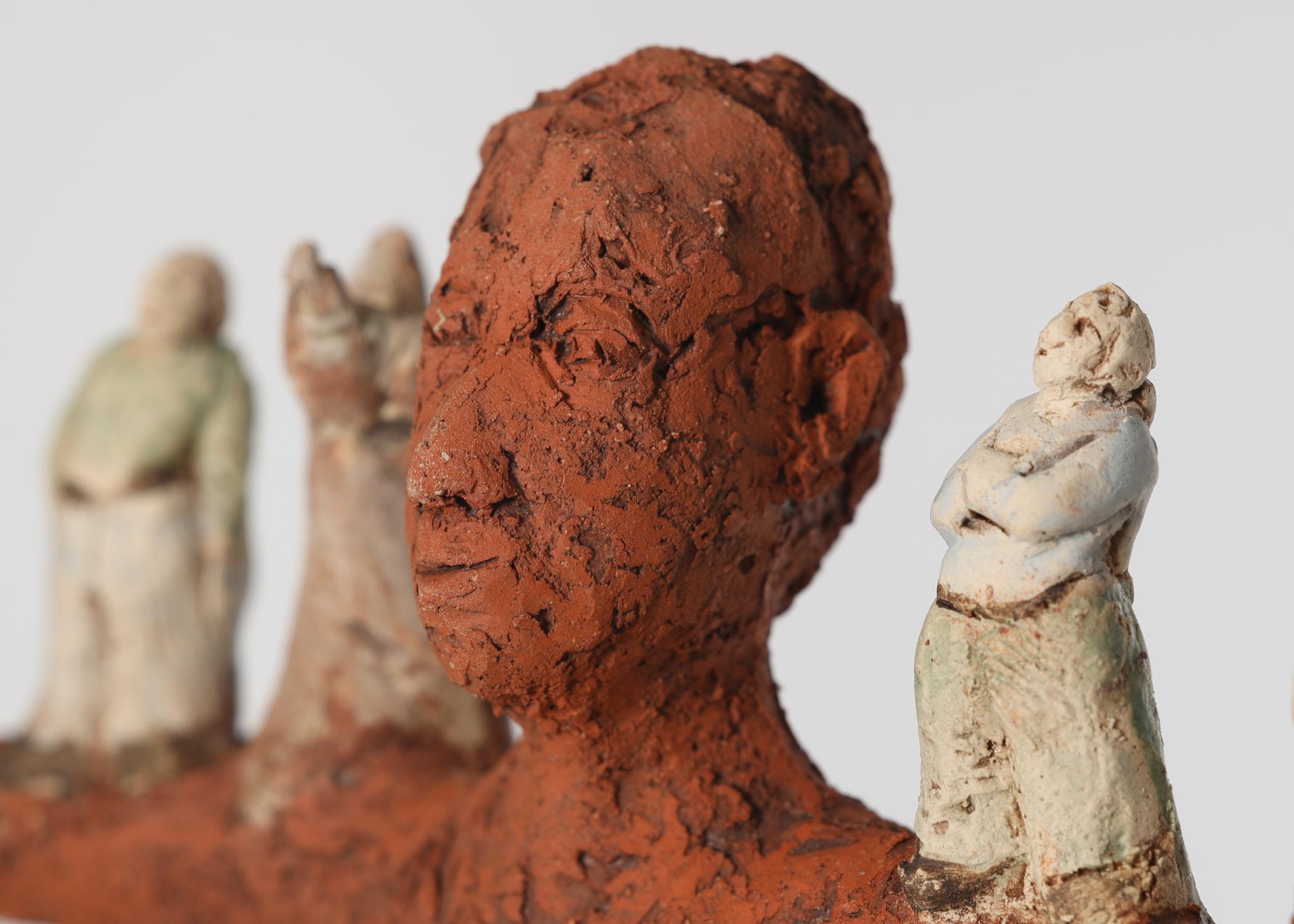 WANDLUNGEN -Figurative Keramiken und Bronzen von  Katharina Ortleb: Hamburg bis 09.10.2021