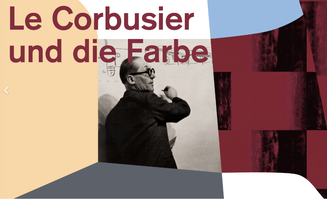Le Corbusier und die Farbe: Zürich bis 28.11.2021